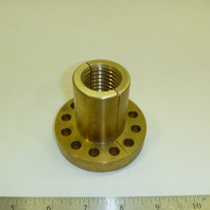 SPLIT BRASS NUT FOR S & S